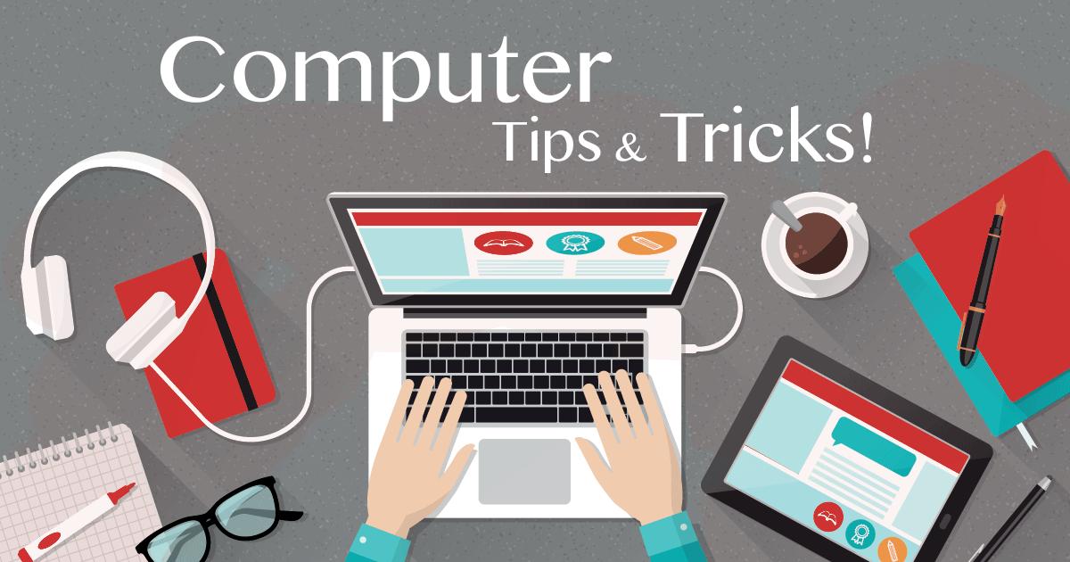 Computer tips and tricks – ramarcsolutions.com
